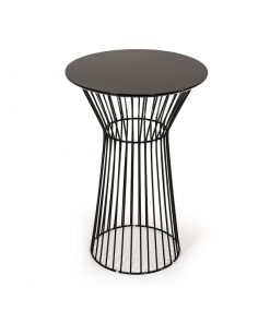 carmen wood top and metal frame bar table