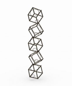 diane forsythia stacking cube wall mounted wine rack