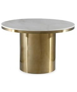 lace brushed gold stainless steel base dining table