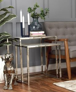 mara 2 piece end nesting table