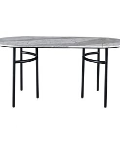 poet marble tabletop with metal iron dining table