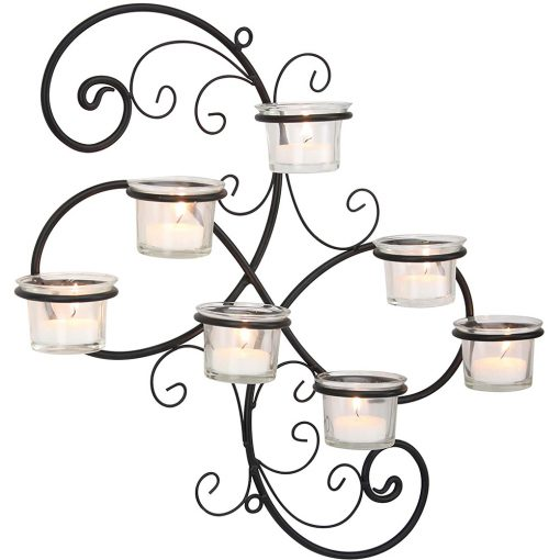16in Wall Tea Light Candle Holders